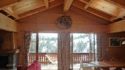Superbe appartement tout confort situé aux combles, près des pistes de ski, vue