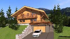 Terrain à vendre avec permis de construire.