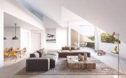 Dachwohnung mit Galerie