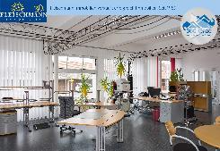 Helles Atelier als Ausstellungsraum, Laden oder Büro