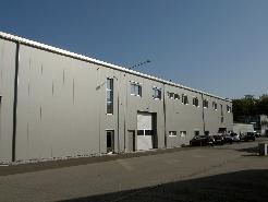 Gewerbehallen/-Räume mit Waren-/Fahrzeug-Lift (Neubau)