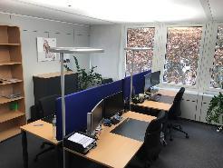 Modernes/helles möbliertes Büro in einer Bürogemeinschaft zu vermieten - ideal f