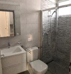 bagno, vista sulla toilette
