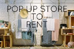 POP-UP STORE TO RENT