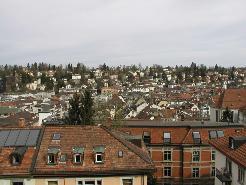 Aussicht Dachwohnung