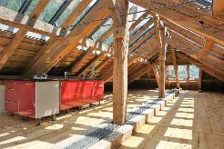 Loft Dachwohnung in wildromantischer Natur