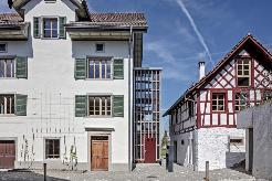 Gutshof - Gutshaus mit Fachwerkhaus