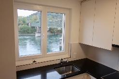 Grosse, sonnige 4.5-Zi-Wohnung mit Rheinblick