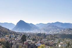 Attico vista lago a Lugano
