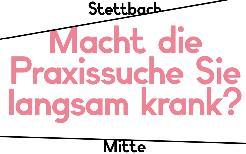 Ihre Praxis ab 250 m2 am schnell erreichbaren Bahnhof Stettbach
