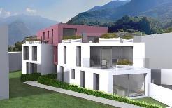Bellinzona, nuovo e moderno 3.5 locali con giardino