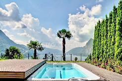 Wunderschöne Wohnung mit Garten, Terrasse & Blick auf den Luganersee