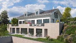 Vue lac et Alpes - Maison jumelle de 5,5 pièces à vendre à Genolier