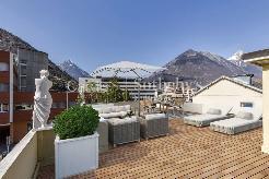 Photo restylisée de la terrasse