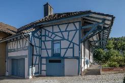 Riegelhaus im Dorfkern von Langwiesen und nur einen Katzensprung vom Bahnhof ent