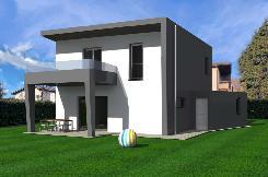 Moderna nuova villetta a Coldrerio