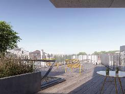 Terrasse commune de plus de 79 m2
