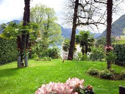 Giardino vista lago
