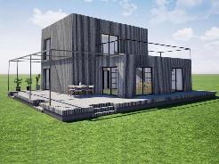 Bauprojekt auf 2 Etagen