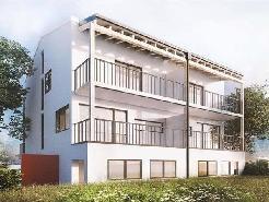 Ansicht Doppeinfamilienhäuser in Küblis