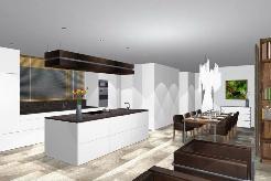 Visualisierung - Traumhafte Küche