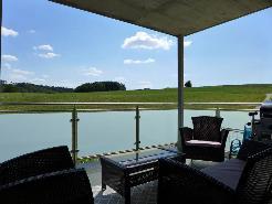 Magnifique terrasse couverte